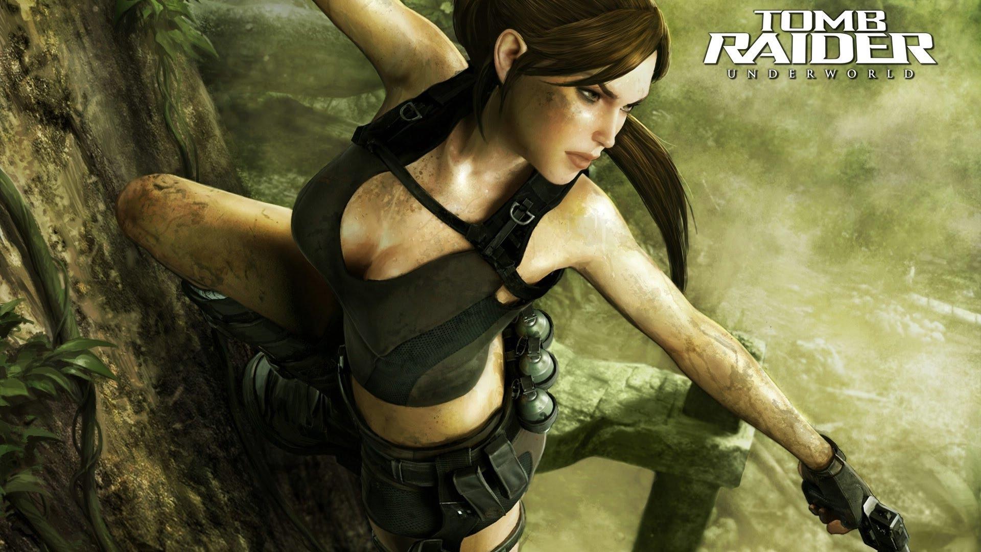 Tomb Raider Underworld Coming In Xmas 08 - ManaJournal com