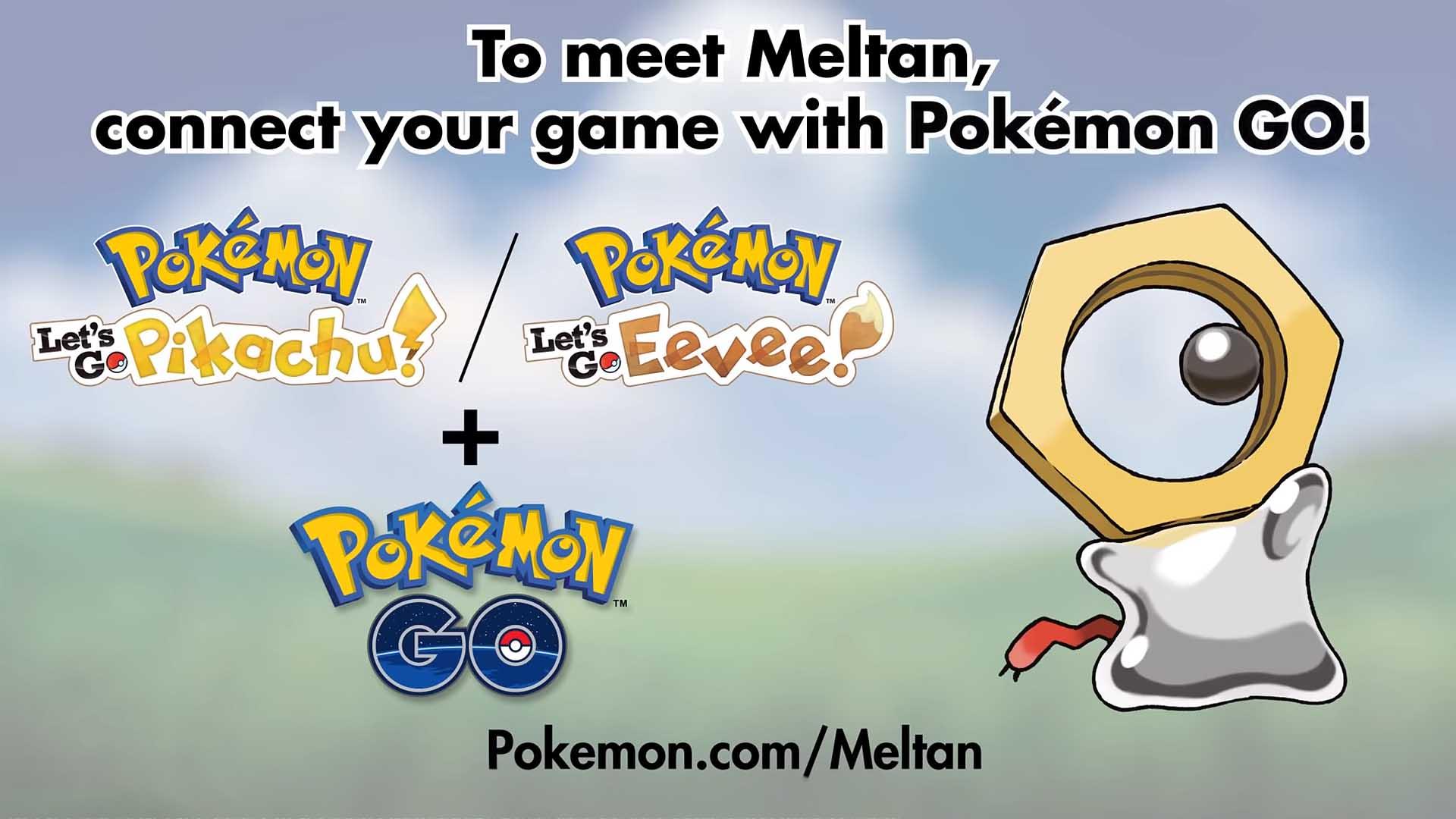 Nintendo Details Its New Mythical Pokémon Meltan